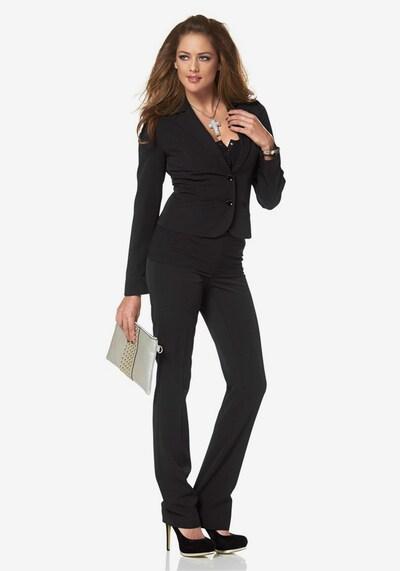 MELROSE Anzug in schwarz: Frontalansicht
