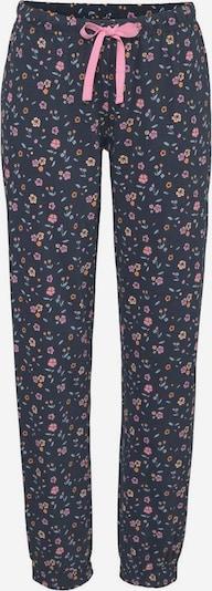 VIVANCE Spodnie od piżamy w kolorze ciemny niebieski / miętowy / pomarańczowy / różowy pudrowym, Podgląd produktu