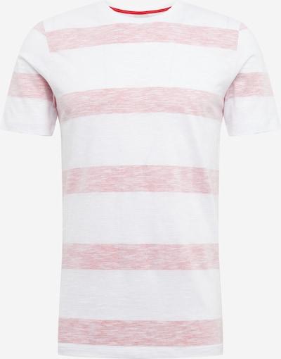 JACK & JONES Shirt 'PANTHER' in rot / weiß, Produktansicht