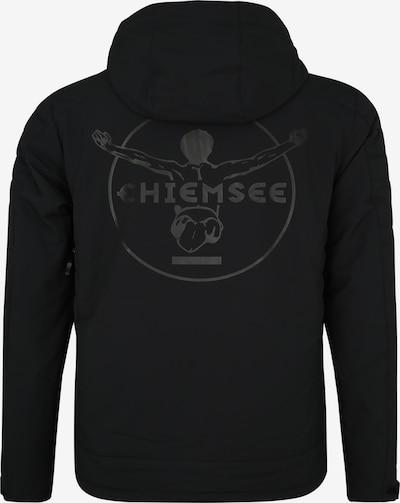 CHIEMSEE Sport-Jacke in schwarz: Rückansicht