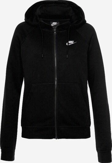 Nike Sportswear Sweatjacke 'ESSNTL' in schwarz, Produktansicht