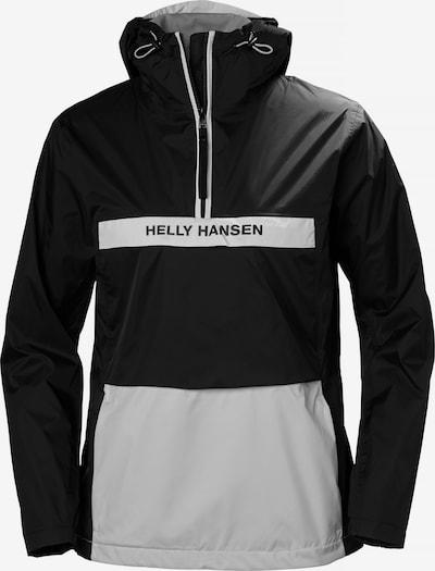 HELLY HANSEN Anorak 'W Active' in schwarz / weiß, Produktansicht