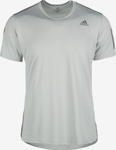 ADIDAS PERFORMANCE Shirt 'Own The Run' in hellgrau: Frontalansicht