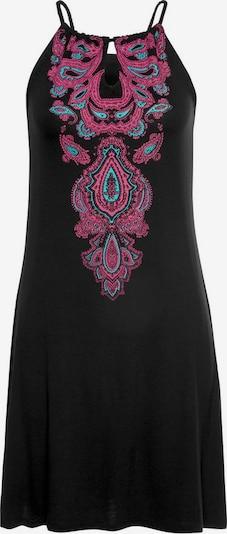 MELROSE Kleid Ethno Kordel in schwarz, Produktansicht