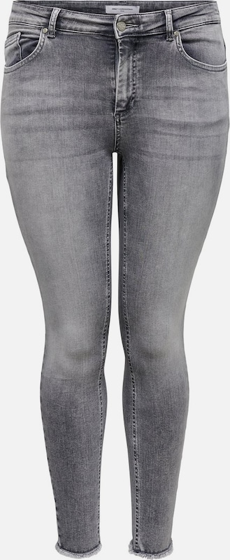 ONLY Carmakoma Curvy Jeans in grau, Produktansicht