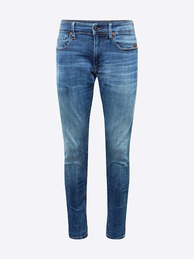 G-Star RAW Jean 'Revend' en bleu denim: Vue de face