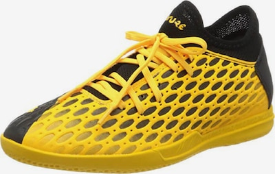 PUMA Voetbalschoen 'FUTURE 5.4' in de kleur Geel / Zwart, Productweergave