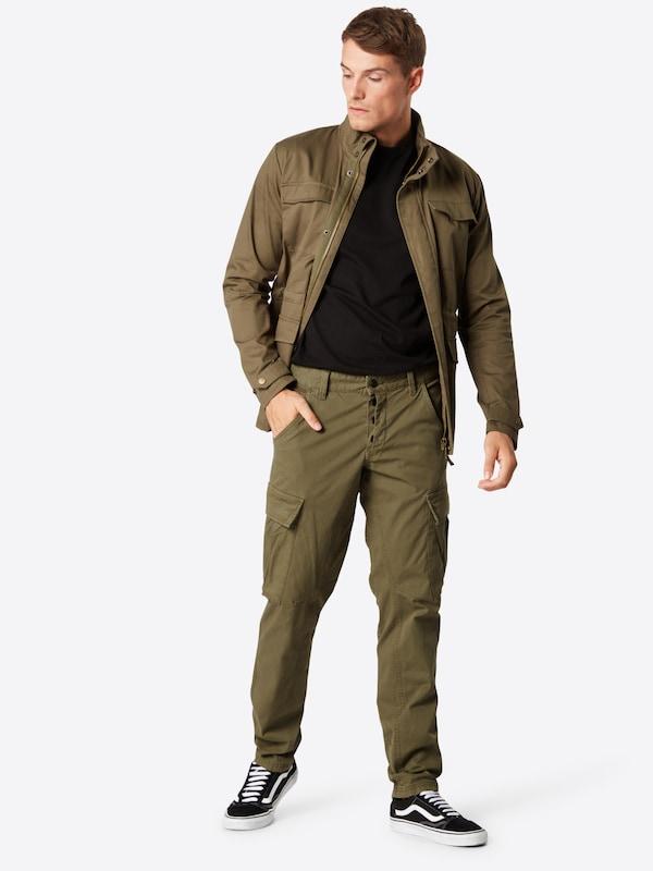 Label Red Pantalon oliver Cargo En Vert S F1Jc3luTK