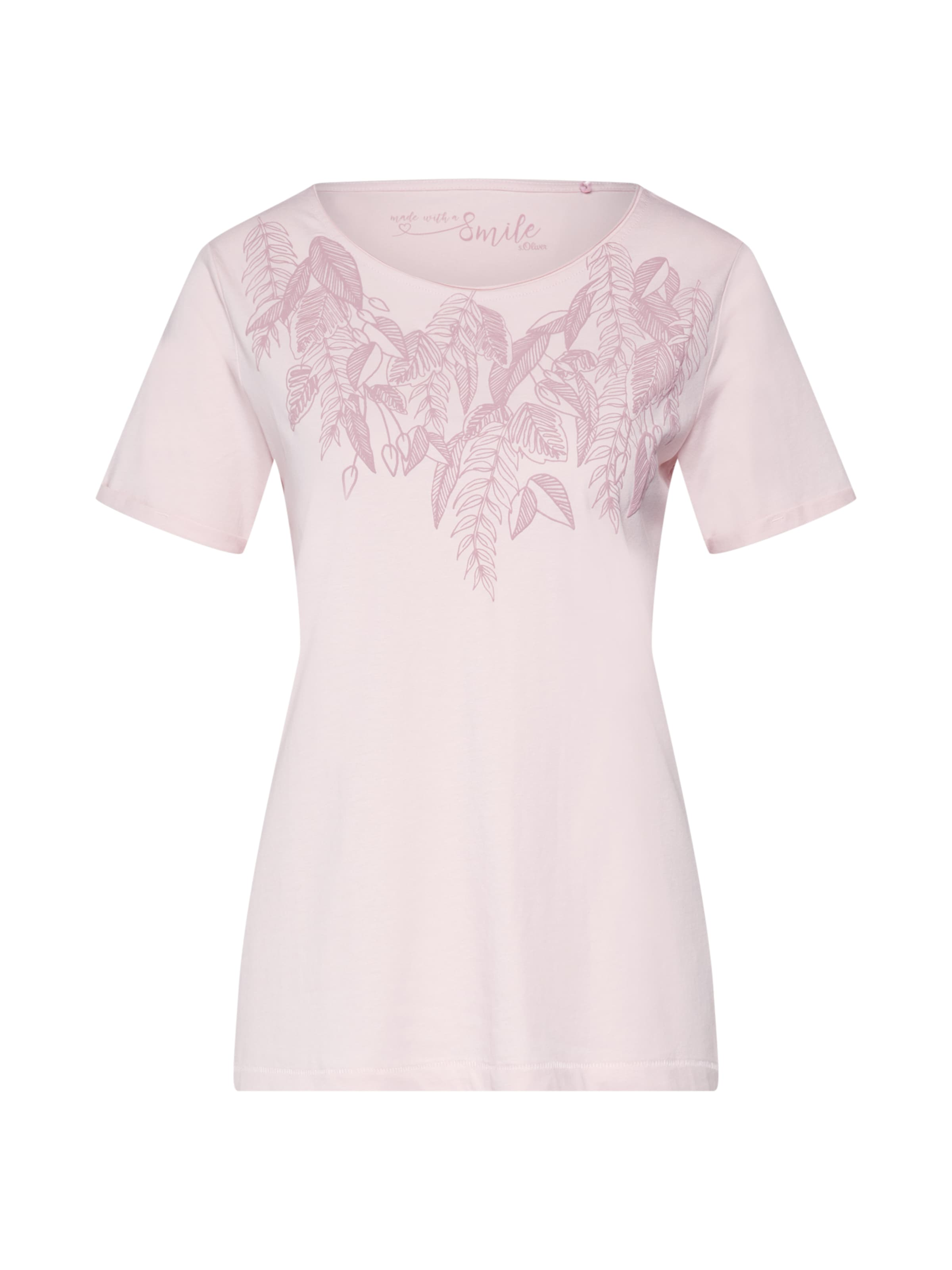 Label S oliver Red PinkRosa T In shirt 29YWDIeEH