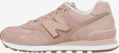 new balance Sneakers laag 'WL574 B' in de kleur Goud / Rosa, Productweergave