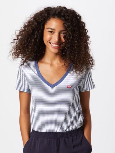 LEVI'S Koszulka w kolorze niebieski / białym, Podgląd na modelu(-ce)