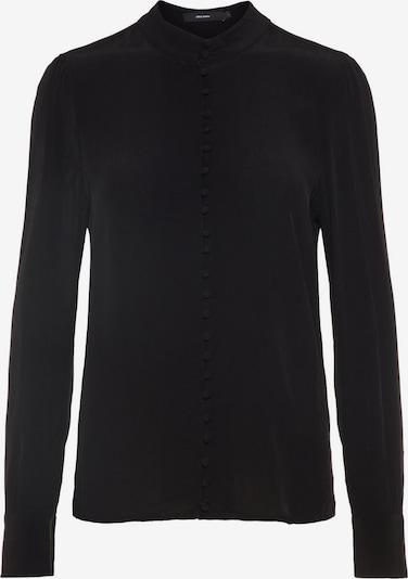 VERO MODA Japanisches Hemd in schwarz: Frontalansicht