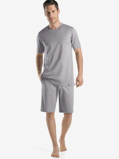 Hanro T-Shirt ' Day & Night ' in hellgrau, Modelansicht