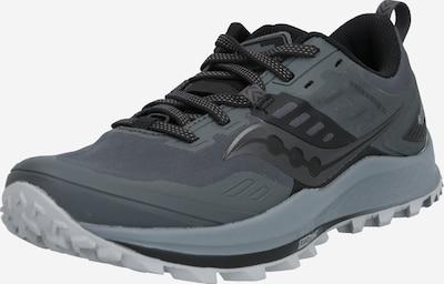 saucony Laufschuhe 'PEREGRINE 10 GTX ' in grau / schwarz, Produktansicht