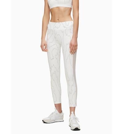 Calvin Klein Leggings in schwarz / weiß, Modelansicht