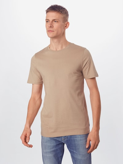JACK & JONES Shirt in de kleur Beige, Modelweergave