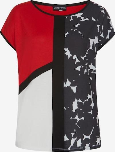 BRUNO BANANI T-Shirt in rot / schwarz / weiß, Produktansicht