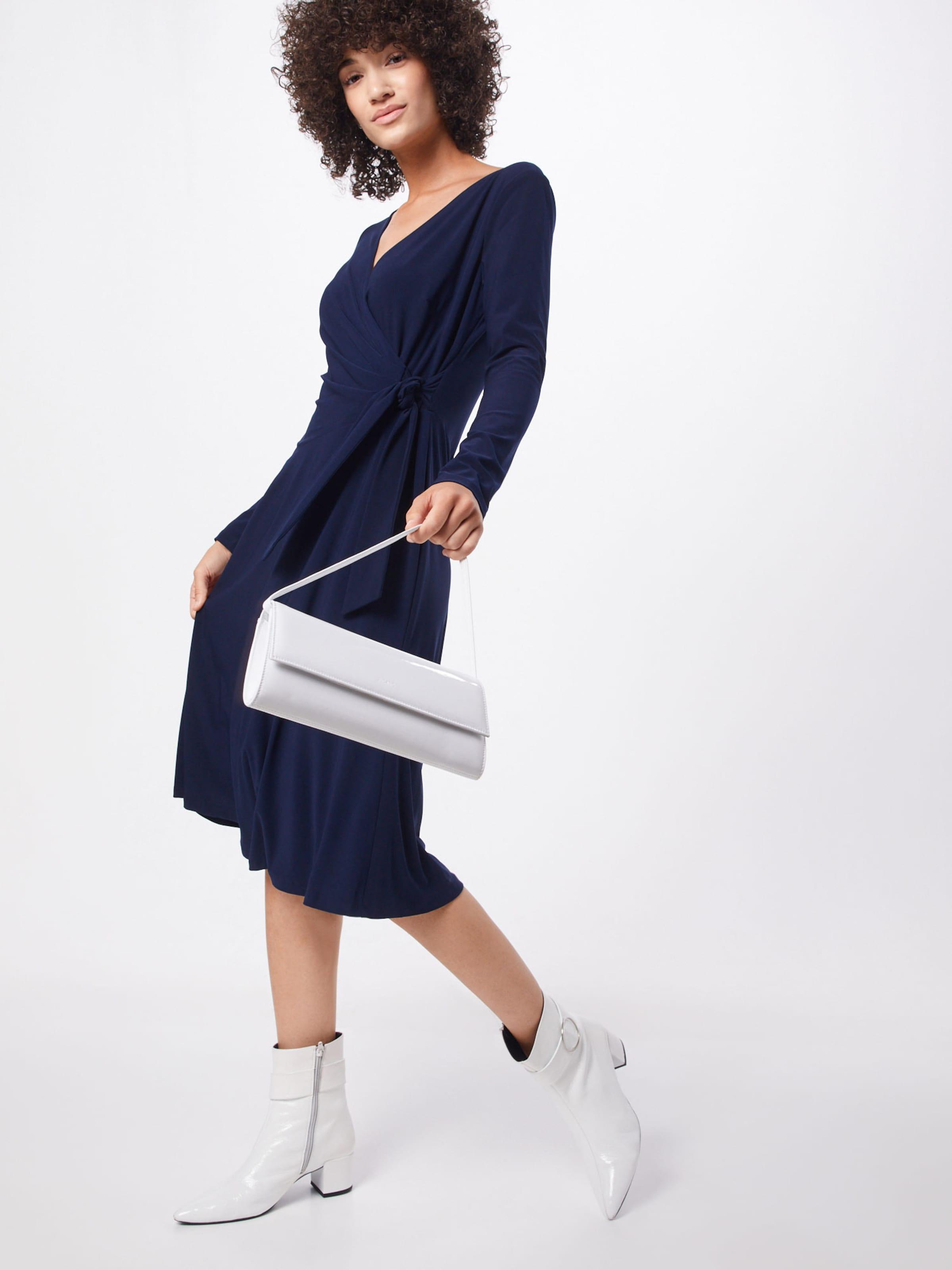 Lauren Ralph 'coreen' In Navy Kleid PknwO0