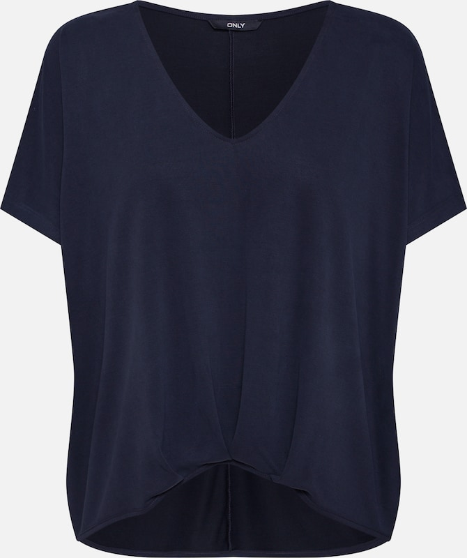 ONLY Shirt 'FIA' in navy: Frontalansicht