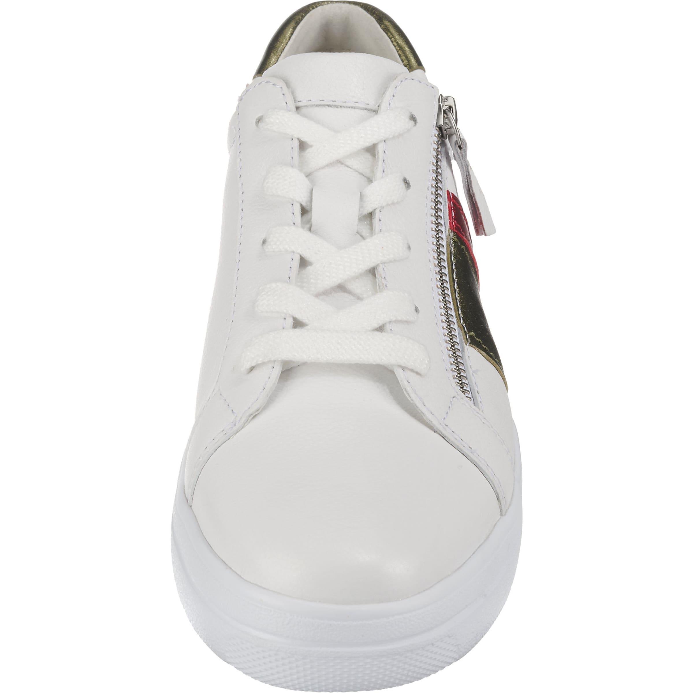 In Weiß In Sneaker KhakiFeuerrot Gabor Sneaker In Gabor Gabor Sneaker KhakiFeuerrot Weiß wPZ80kXNnO