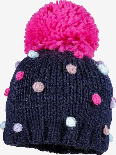 MAXIMO Mütze in nachtblau / hellblau / helllila / pink / hellpink, Produktansicht