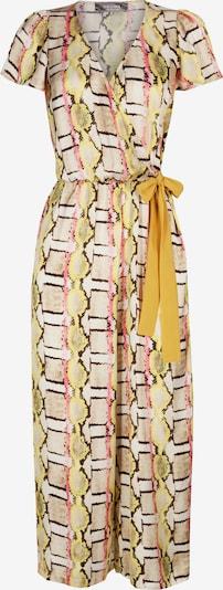 Nicowa Jumpsuit 'WIDES' in hellbraun / gelb, Produktansicht