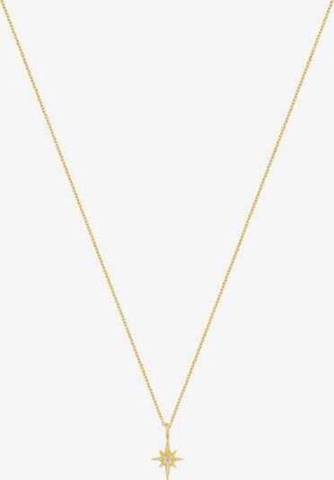 ID Fine Chaîne 'Guiding Star' en or, Vue avec produit
