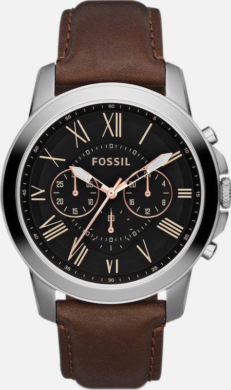 "FOSSIL Chronograph, ""GRANT, FS4813"""