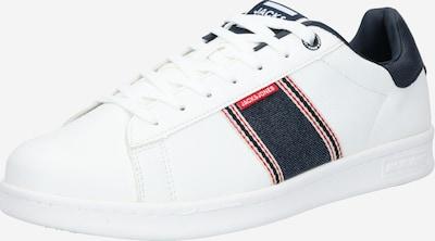 JACK & JONES Sneakers laag 'BANNA' in de kleur Blauw denim / Wit, Productweergave