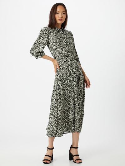 Trendyol Kleid in gelb / schwarz / weiß, Modelansicht