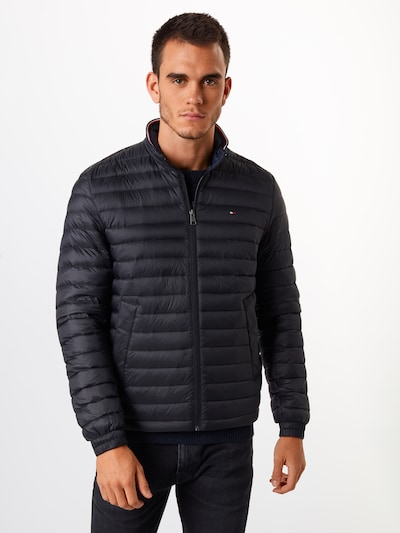 TOMMY HILFIGER Tussenjas 'CORE PACKABLE DOWN JACKET' in de kleur Zwart: Vooraanzicht