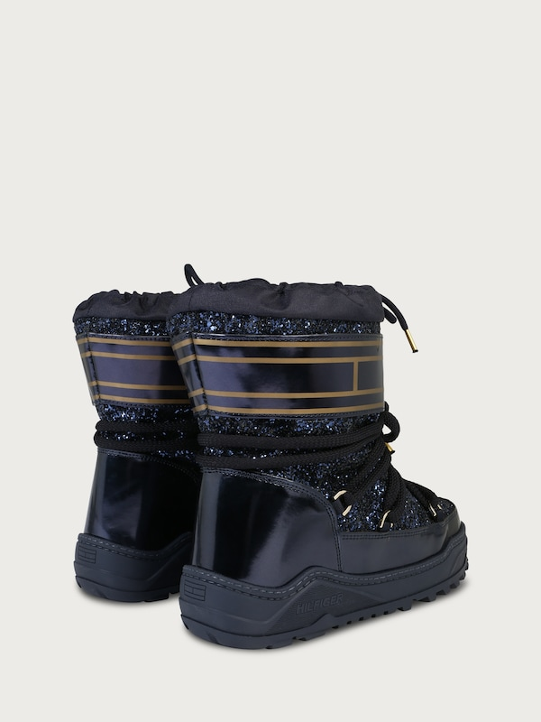 TOMMY HILFIGER Snow Boot im Glamour-Look