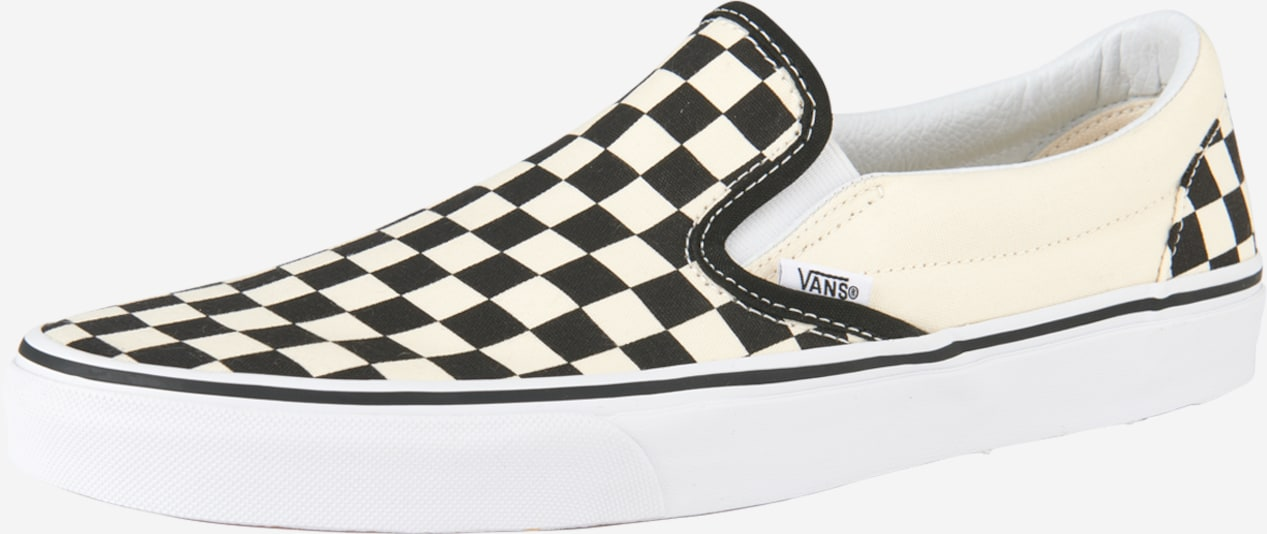 VANS Slipper 'Classic Slip-On' in creme / schwarz, Produktansicht