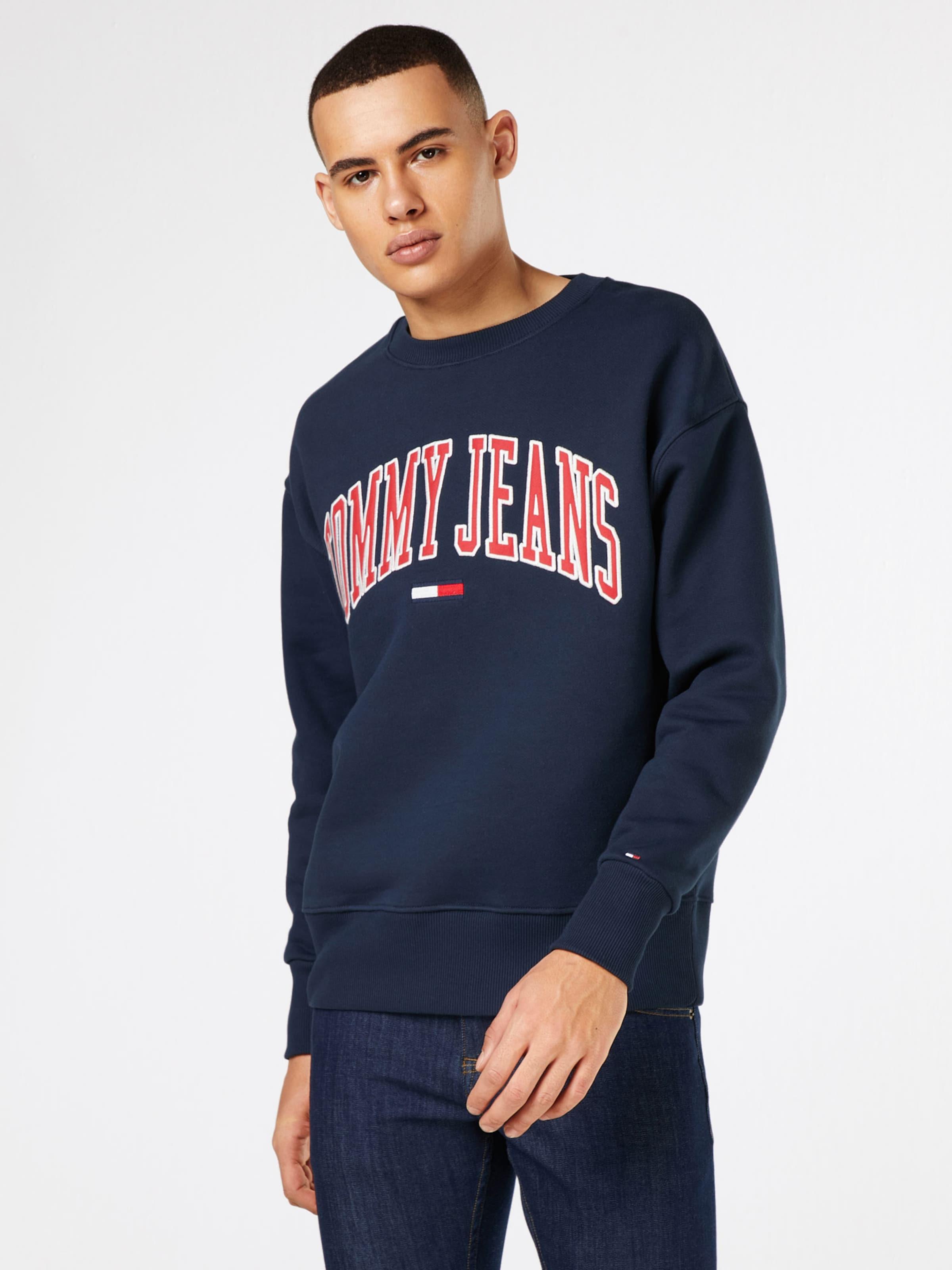 Tommy Jeans Sweatshirt 'COLLEGIATE SWEAT' Ost Veröffentlichungstermine fhD8Z8e