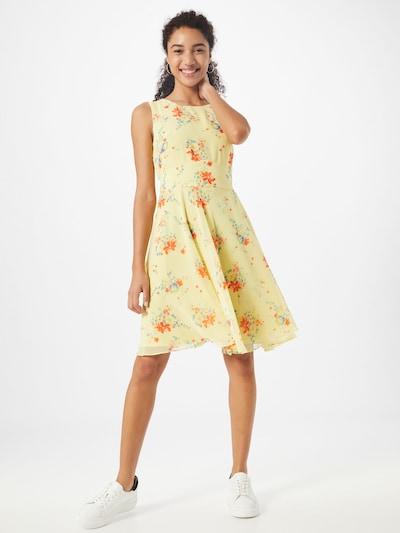 Esprit Collection Letní šaty - citronová / mix barev, Model/ka