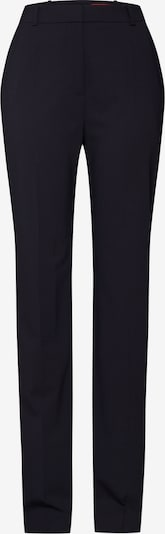 HUGO Trousers with creases in navy, Item view