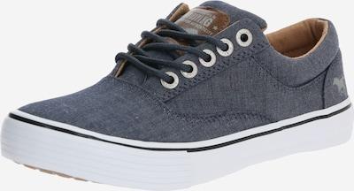 MUSTANG Sneaker '1225304' in dunkelblau / weiß, Produktansicht