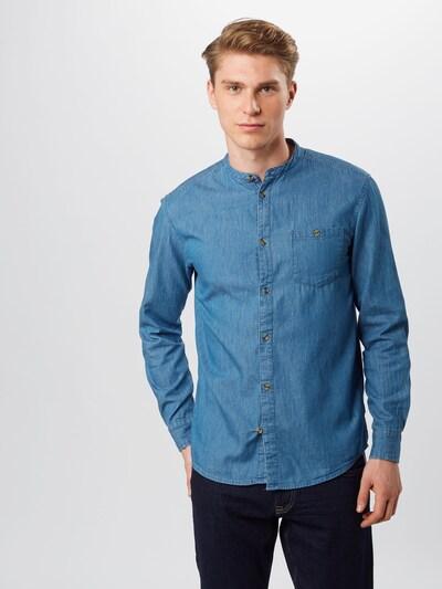 !Solid Hemd in blue denim: Frontalansicht