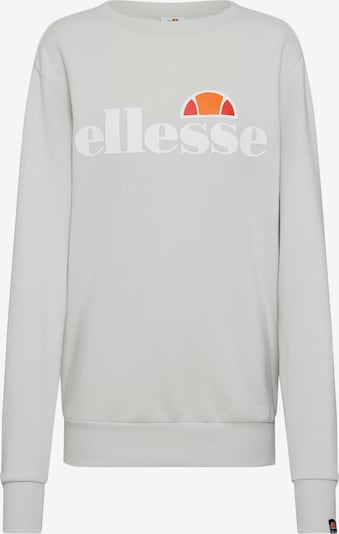 ELLESSE Sweat-shirt 'Agata' en gris clair: Vue de face