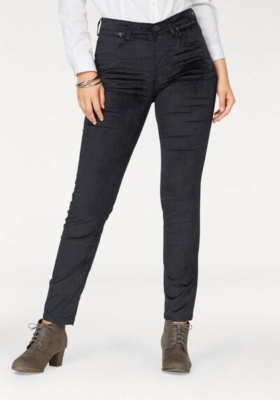 MAC Jeans 'Slim Velvet' in navy, Modelansicht
