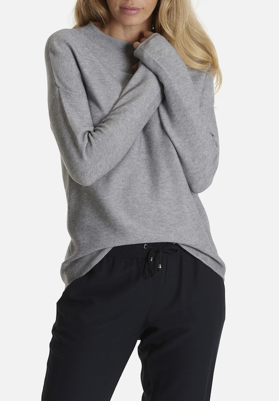 Strickpullover Betty amp; Co amp; Graumeliert Betty ZYYIv
