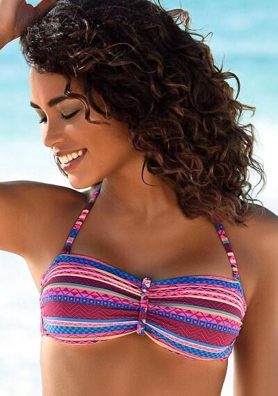 BUFFALO Hauts de bikini 'Lux' en rose foncé: Vue de face