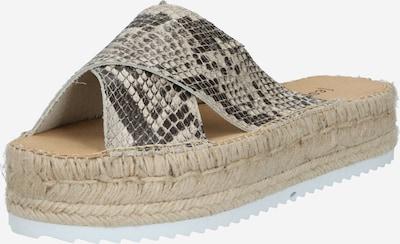 espadrij l´originale Pantolette in beige / grau, Produktansicht