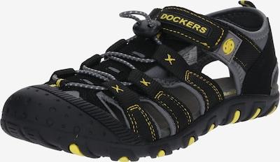 Pantofi deschiși '40TW650' Dockers by Gerli pe gri / negru, Vizualizare produs