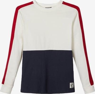 LMTD Shirt in nachtblau / rot / weiß, Produktansicht