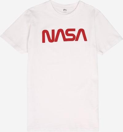 Mister Tee T-Shirt  'NASA' in rot / weiß: Frontalansicht