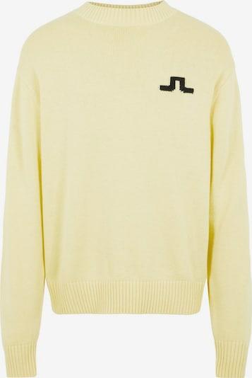 J.Lindeberg Pullover in gelb / schwarz, Produktansicht