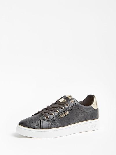 GUESS Sneaker 'Beckie' in schwarz / silber, Produktansicht