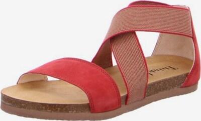 THINK! Sandale in rotmeliert, Produktansicht