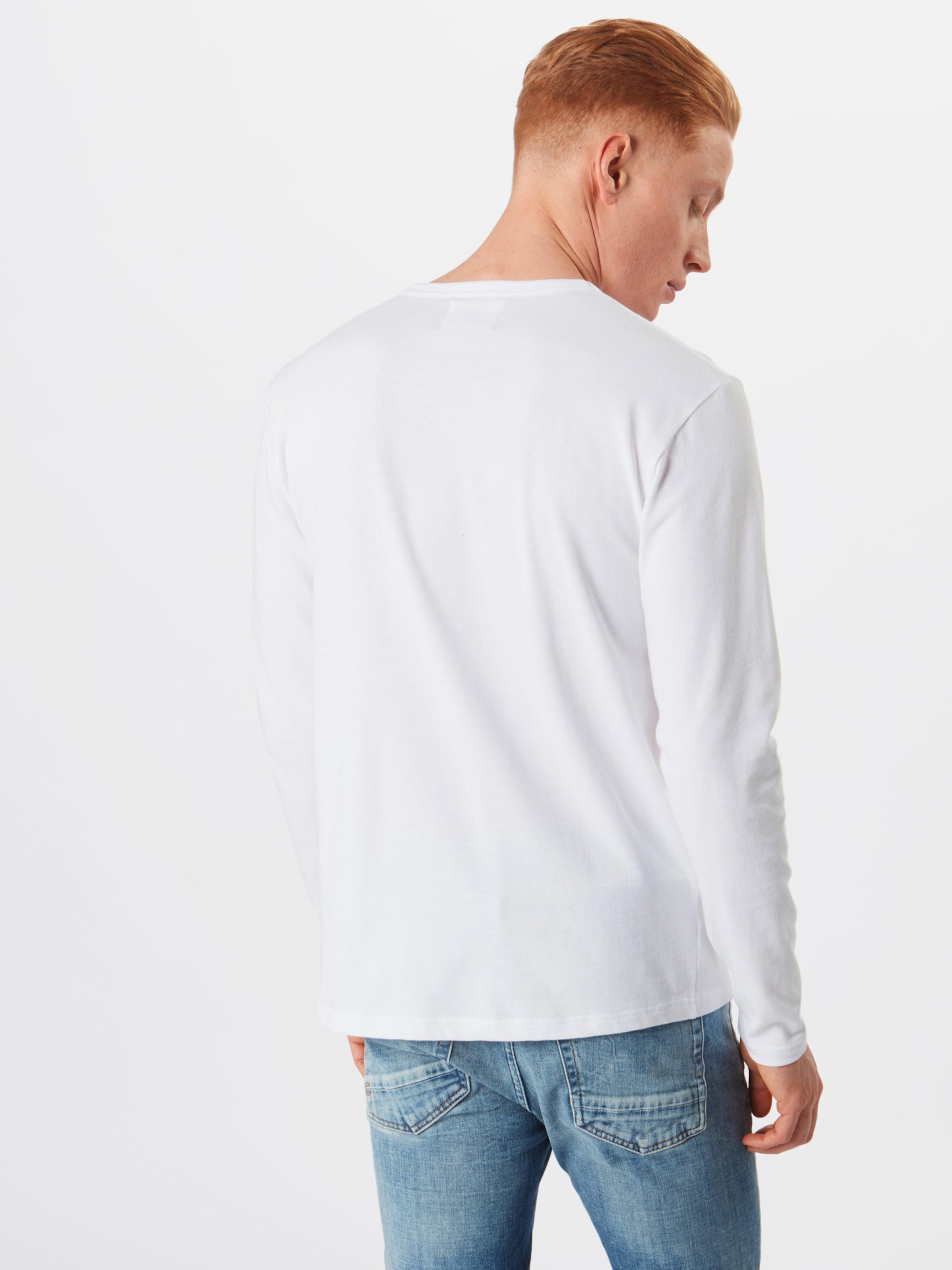 Langarmshirt In In Wood Weiß Langarmshirt In Langarmshirt Wood Wood Weiß Weiß rhQdCtsx